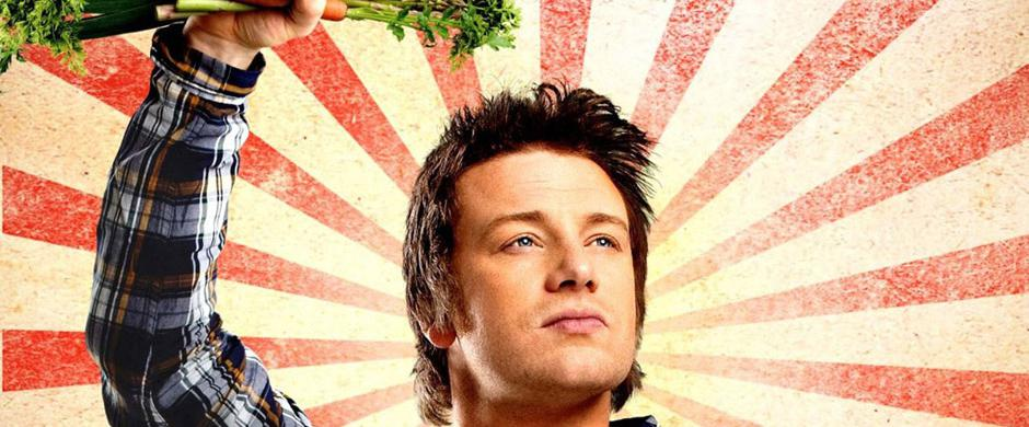 """Empire"" Jamie Oliver on the ship"